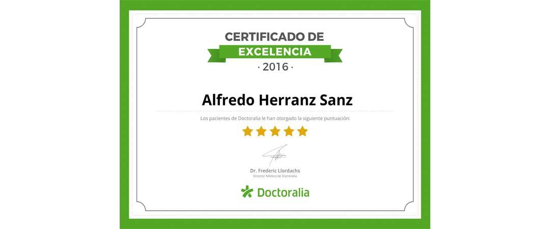 Certificado Excelencia Profesional