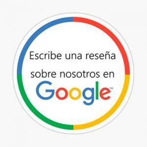 Escribir Reseña de Google My Business